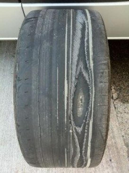 Ruined Tyre - CJ Auto