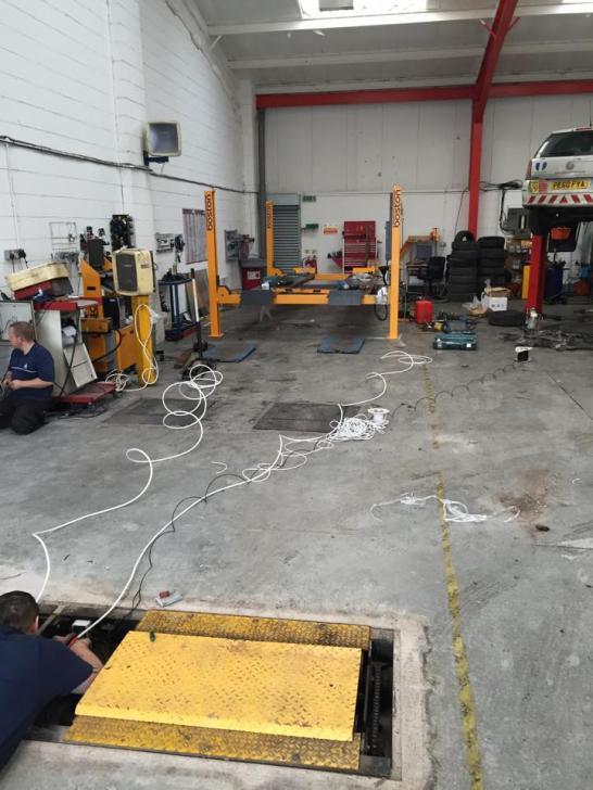 New MOT Bay - CJ Auto