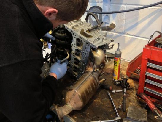 Engine Strip Down - CJ Auto