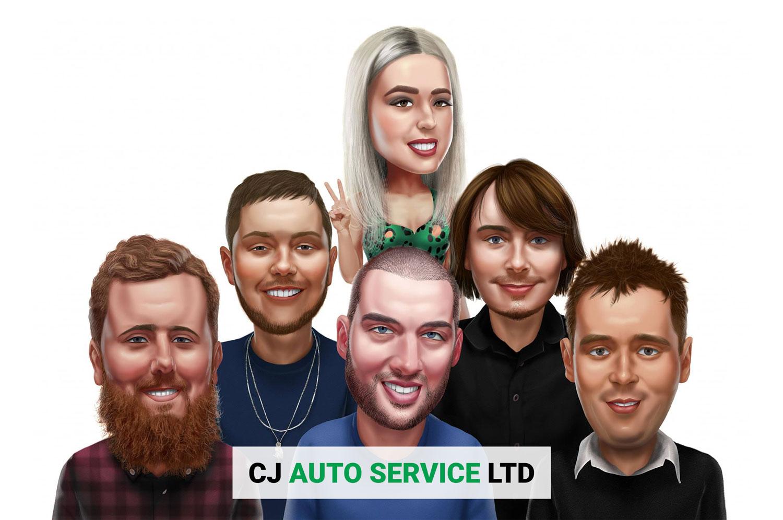 CJ Auto Service in Warrington