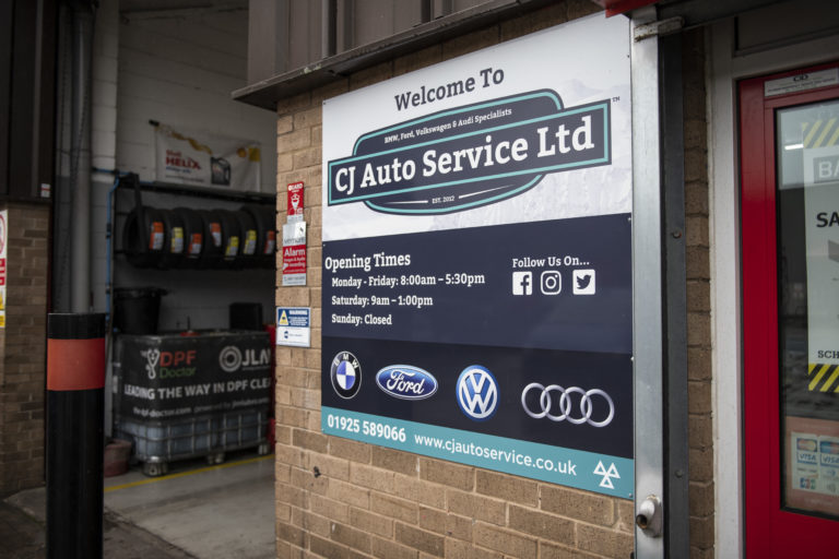 CJ Auto Service Opening Hours