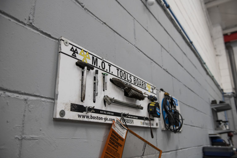 MOT Tools Board