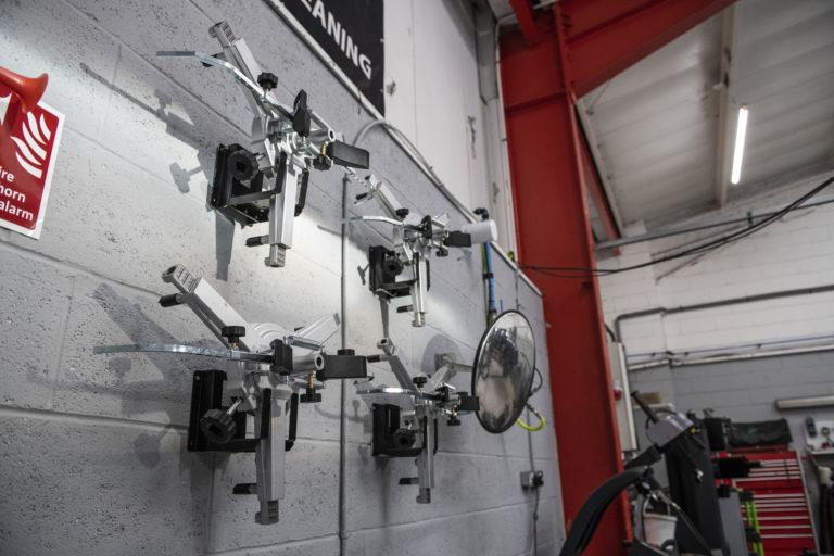 Wheel Aligning Tyre Machine