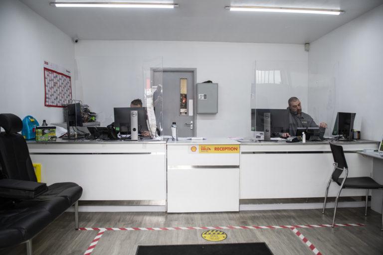 CJ Auto Service Reception