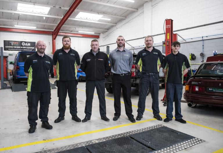 Our CJ Auto Service Team