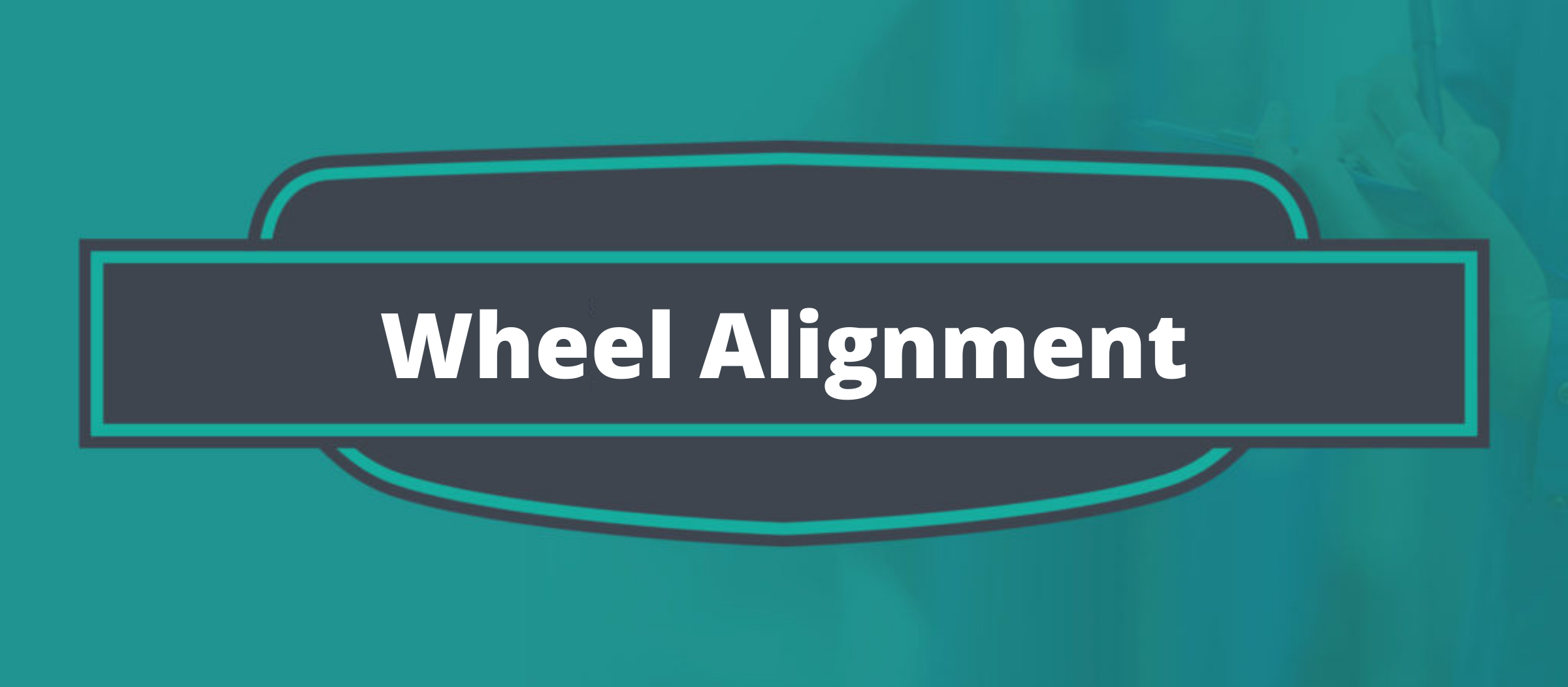 Wheel Alignment Banner
