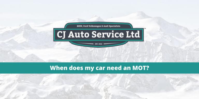 When does my car need an MOT?