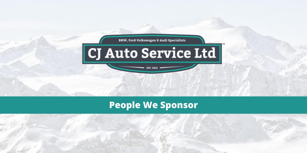 People We Sponsor - CJ Auto