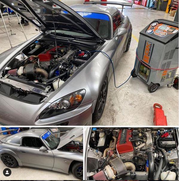Honda S2000 Re-gas - CJ Auto Service