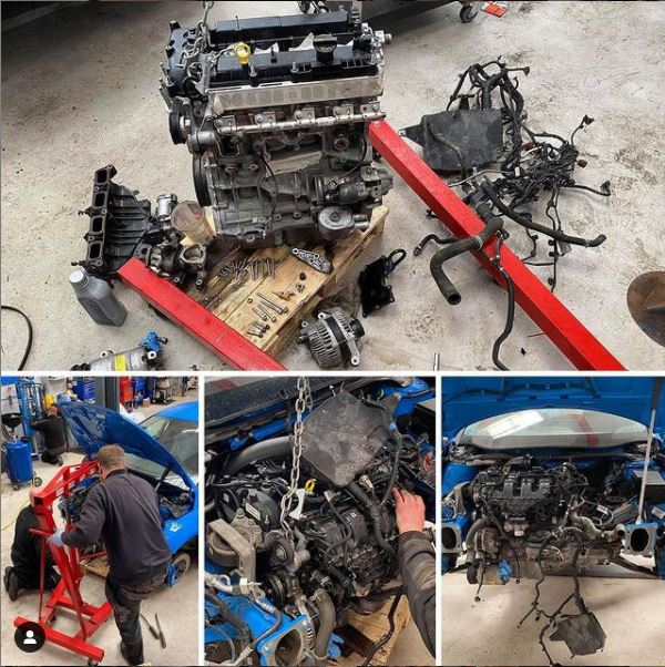 Ford Focus RS Stripped Engine - CJ Auto Service