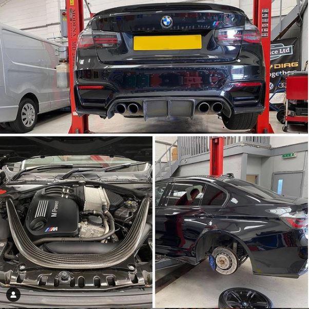 BMW M3 Service - CJ Auto Service
