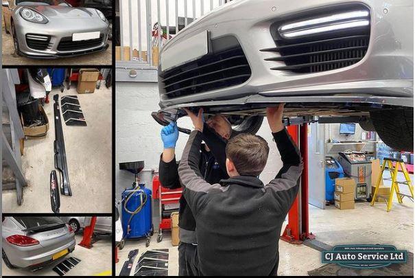 Porsche Panamera Exterior Parts - CJ Auto Service