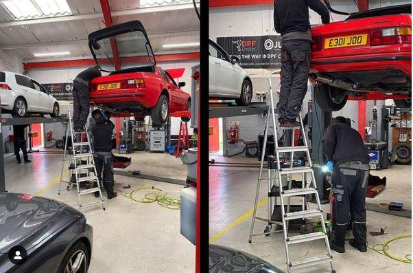Porsche 944 Welding Work - CJ Auto Service