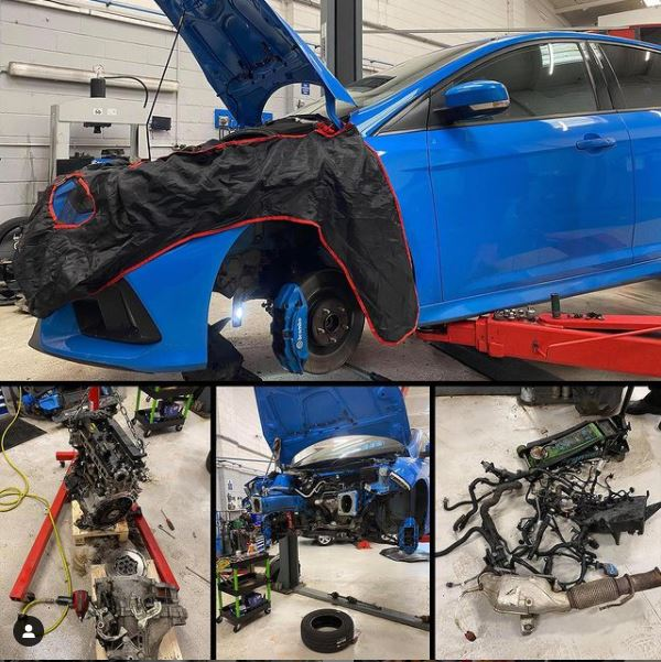 Ford Focus RS engine noise - CJ Auto Service