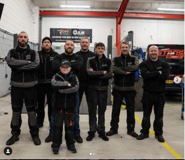 Little Harry Browns Race Team - CJ Auto Service