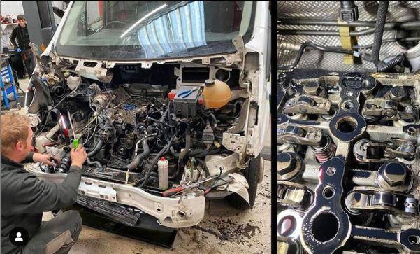 Ford Transit Damaged Cylinder - CJ Auto Service